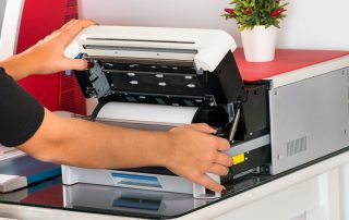 Open a sublimation printer